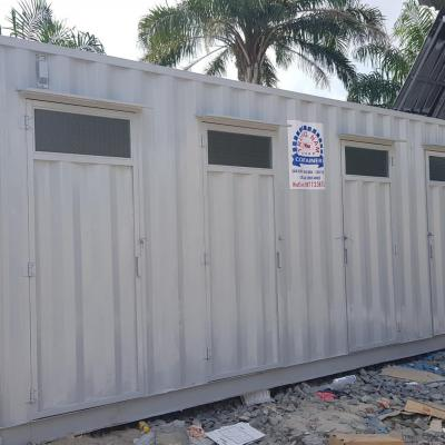 Container toilet 20 feet - Mẫu 02