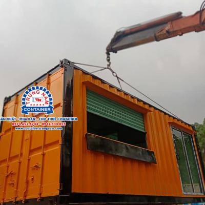Container kiot bán hàng 20 feet - Mẫu 01