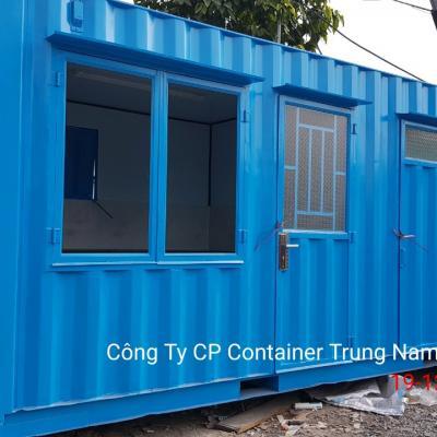 Container 20 feet 02 toilet và 01 phòng bếp