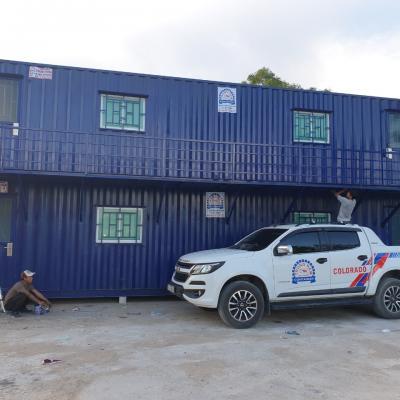 Nhà container 40 feet chồng đôi