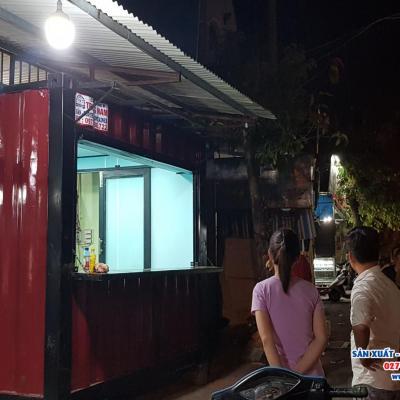 Container Kiot bán hàng 10 feet - Mẫu 02