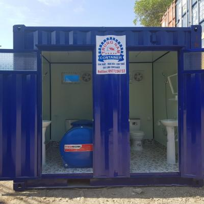 Container toilet 10 feet - Mẫu 03