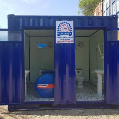 Container toilet 10 feet - Mẫu 03