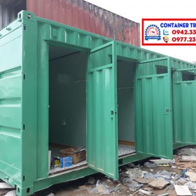 Container toilet 20 feet - Mẫu 01