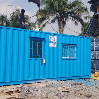 Clip Container văn phòng 20 feet có toilet