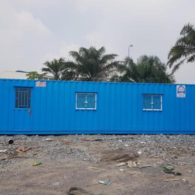 Container văn phòng 40 feet có WC - Mẫu 01