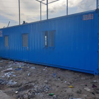 Container văn phòng 40 feet có WC - Mẫu 02