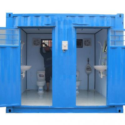 Container toilet 10 feet - Mẫu 01
