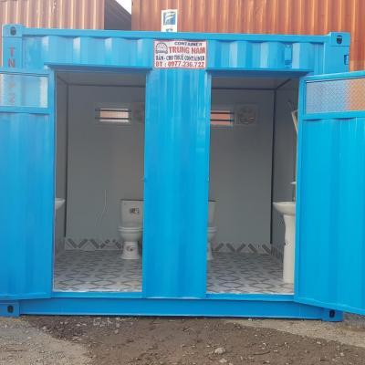 Container toilet 10 feet - Mẫu 02